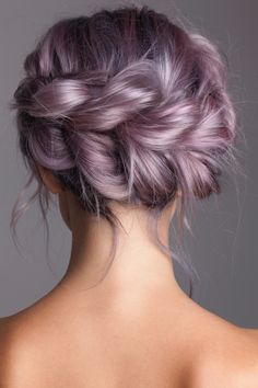 Modish Hairstyles 40 Ways to Create Less Boring Pull Through Braids Be Modish Hair color Boring Braids Create Hairstyles lilac hair Modish Pull Ways Hair Dye Colors, Cool Hair Color, Pastel Hair Colour, Pastel Lilac Hair, Pretty Hairstyles, Braided Hairstyles, Updo Hairstyle, Scene Hairstyles, Baddie Hairstyles