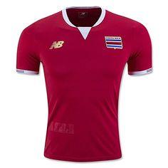 66b81dd60eb Amazon.com  Costa Rica Home Soccer Jersey Copa America Centenario 2016 (S)   Clothing