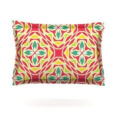 KESS InHouse Christmas Carnival by Miranda Mol Featherweight Pillow Sham Size: