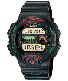 Watch Image and Video Archive: Casio G-Shock G Shock Watches, Casio G Shock, Watches For Men, Men's Watches, Casio Vintage, Vintage Watches, S Shock, Watch Image, Military Fashion