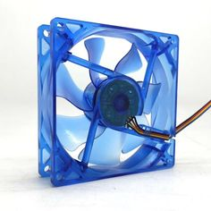 9cm computer cpu radiator chassis LED fan 4pin ultra-quiet PWM 9225 12V 0.25A