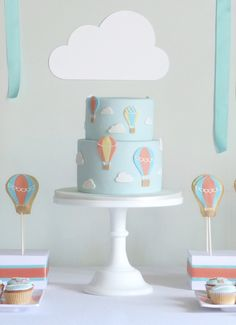 re:pin BKLYN contessa :: hot air balloon dessert idea