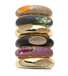 Shop for Roberto Coin jewelry at authorized retailer James Free Jewelers. Complete line of diamond rings, gold bracelets, Tiny Treasure necklaces and earrings. Jewelry Box, Jewelry Accessories, Fine Jewelry, Jewelry Design, Unique Jewelry, Vintage Jewellery, Coin Bracelet, Bangle Bracelets, Bangles