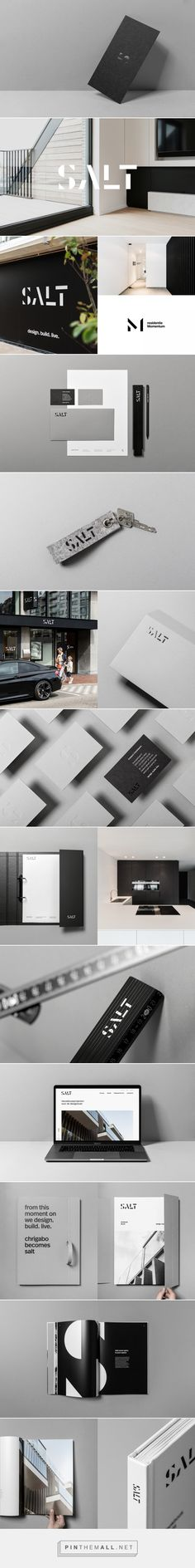 salt real estate - branding on Behance... - a grouped images picture - Pin Them All