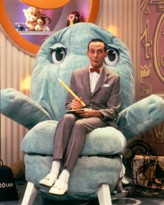 Pee Wee's Playhouse- no wonder we're all warped.