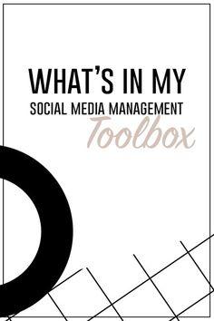 The Best Tools for Managing Social Media for Business | Small Talk Social http://www.smalltalksocial.com