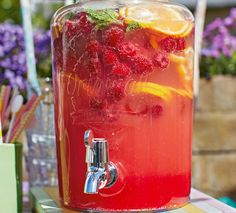 Your party guests will be pleased as punch with this fantastically fruity summer drink. | Tesco