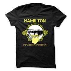 Hamilton - #funny sweatshirt #sweater scarf. LIMITED TIME PRICE => https://www.sunfrog.com/States/Hamilton-16227323-Guys.html?68278