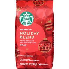 Starbucks Holiday Blend Medium Roast Ground Coffee oz) from Kroger - Instacart Starbucks Merchandise, Starbucks Holiday Blend, Starbucks Rewards, Coffee Varieties, Yogurt Smoothies, Coffee Packaging, Blended Coffee, Coffee Roasting, Funny Animal Pictures