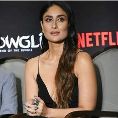 Bollywood And Hollywood Stars Including Kareena Kapoor Andy Serkis Madhuri Cate Blanchett Come Together For Mowgli Press Conference