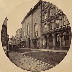 The Second Universalist Church on School Street in Boston, taken in 1860