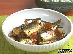 いわしの新しょうが煮のレシピ|キユーピー3分クッキング
