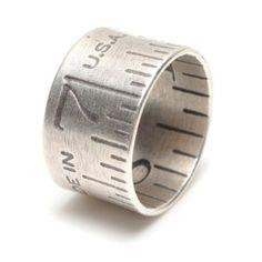 Wide Ruler Ring