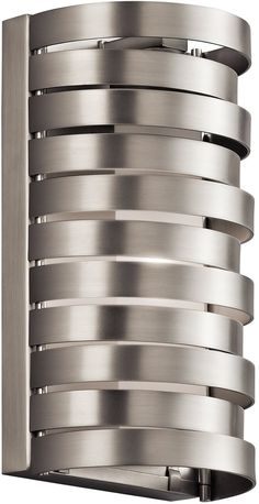 0-105912>Roswell 1-Light Wall Sconce Brushed Nickel