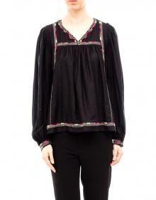 CHAZ Blusa seda rústica bordados color ISABEL MARANT --- OUTLET