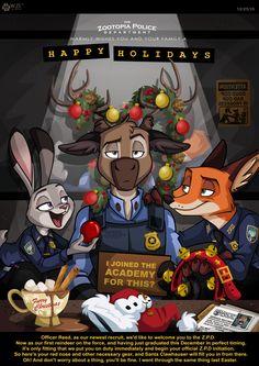 Disney Christmas Zootopia