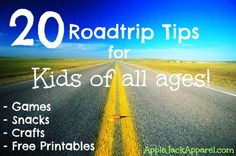 20 Road Trip Ideas for Kids   Mermaid Tails by Applejack Apparel