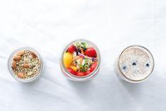 Jar Meals to-go, three ways