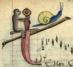 Don't forget the dagger, from the Copenhagen Chansonnier, 1400s. Det Kongelige Bibliotek