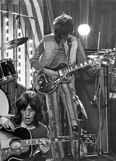 The Rock'n Roll Circus 1968 | Mick Jagger and Keith Richards