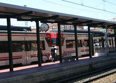 Reloj Festina - Bodet estación de trenes de Valladolid, España.