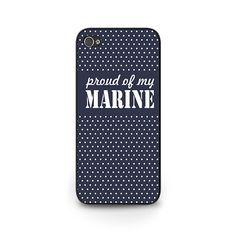 Proud of My Marine Phone Case - Marine Wife Phone Case - Marine Girlfriend iPhone 5s Phone Case - Marine Mom iPhone 6 Phone Case