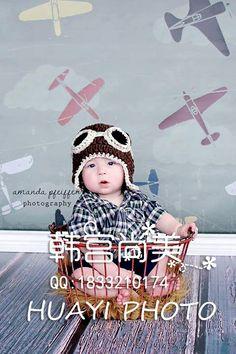 Купить товарHuayi 5X7FT искусство ткани винил фотографии фон новорожденных детей портрет самолет фоны D 7352 в категории Задний планна AliExpress.  В настоящее время, наша компания имеет следующие четыре материалы:  Ткань искусства, против морщин ткань, холст, водоне