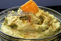 The Kitchen Whisperer Super Creamy Avocado Hummus!