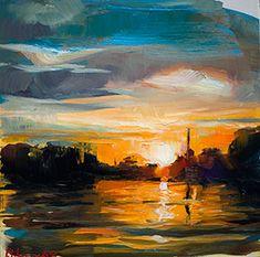 Edward B. Gordon: Sun set