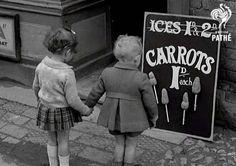 CARROTS ON STICKS, 1941