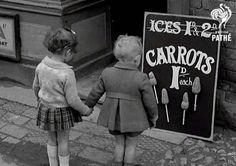 Carrots on Stick - War Time Britain - 1941
