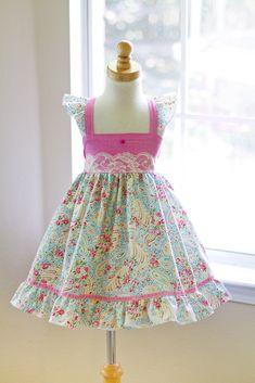 Hannah Dress – Kinder Kouture. Elasticized back.