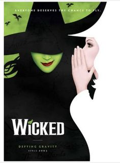 Wicked the Broadway Musical - Souvenir Program Broadway Plays, Defying Gravity, Musicals, Wicked, Lyrics, Songs, Junk Journal, Picture Wall, Timeline