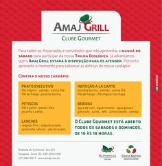 Newsletter Amaj Grill