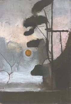 Victor Pasmore - Sun and Pine Trees 1946 Pastel Landscape, Abstract Landscape, Landscape Paintings, Abstract Art, Landscapes, Victor Pasmore, Modern Art, Contemporary, Photo Art