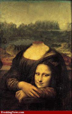 headless Mona Lisa