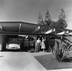 Greetings from Eichlerville. Sunnyvale, 1960