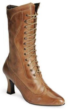 Oak Tree Farms 9 Victorian dress boots $109.99 Store: WesternWear.com by Sheplers