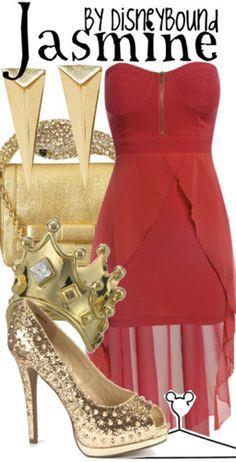 Female slave Jasmine outfit