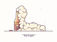 The Foam by Axel Hermann