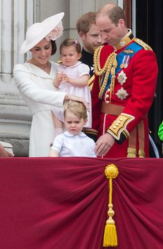 June 11,2016 The British Royal Family attended the annual Trooping the Colour ceremony