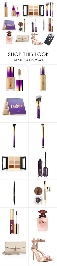 """All face Tarte cosmetic"" by milicadjurdjevic on Polyvore featuring beauty, tarte, Dolce&Gabbana, Gianvito Rossi, beautiful, Heels, bag and Kylie"