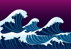 Waves and Foam, Vector by Vector Open Stock License: Attribution ID: Free Vector Graphics, Vector Art, Meer Illustration, Underwater Background, Splash Images, Waves Vector, Surfing Pictures, Wave Art, Sea Waves