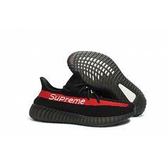 8805b68457a Adidas Boty Výprodej Supreme x Yeezy Boost 350 V2 Černá Červené - Adidas  Obchod Adidas Nmd