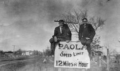 #ThrowbackThursday this is at the south end of Silver St. I would say a lot has changed! 12 mph would drive me crazy