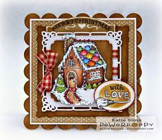 Tasty and timeless, this gingerbread set bakes holiday memories right into your cardmaking! The cottage is loaded with details and old-timey charm, and is ready to be decorated with your favorite flav