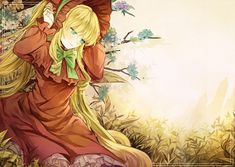 Tags: Anime, Fanart, Rozen Maiden, Shinku, Pixiv
