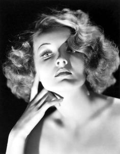 30S  love this pin curled, friz finger wave look...such a gorgeous bob :) #vintage #hair #hairstyles