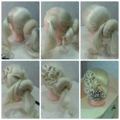 Gorgeous Bridal Bun Hairstyle Tutorial ~ Entertainment News, Photos & Videos – C… hair models shinion – Hair Models-Hair Styles Dance Hairstyles, Braided Hairstyles, Wedding Hairstyles, Best Ombre Hair, Ombre Hair Color, Ballroom Dance Hair, Bridal Hair Buns, Bridal Updo, Competition Hair