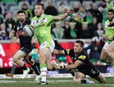 2015 NRL Rd 25 - Canberra Raiders v Panthers - Josh Hodgson